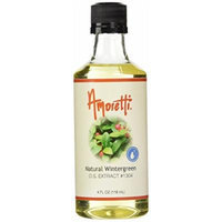 Amoretti Natural Wintergreen Extract, 4 Fluid Ounce