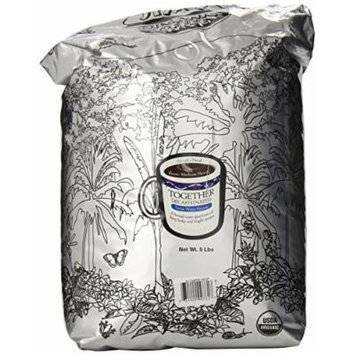 Jim's Together Organic Decaf Coffee, 5-Pound