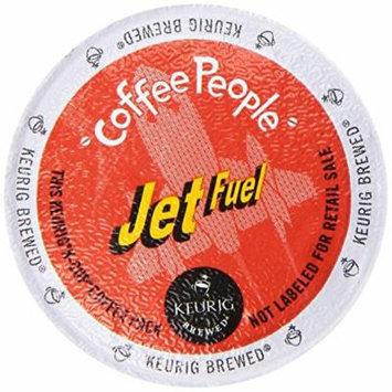 Keurig, Coffee People Jet Fuel Coffee, Extra Bold, K-Cup packs, 48-Count