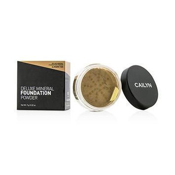 Cailyn Cosmetics Deluxe Mineral Foundation Powder, Warm Tan, 0.3 Ounce