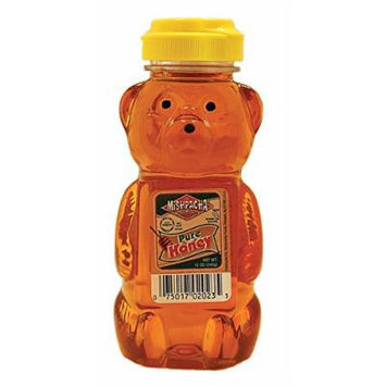 MISHPACHA Honey - Squeeze Bear, 12-Ounce Bottles (Pack of 3)