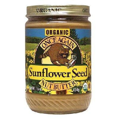 Sugar and Salt Free Sunflower Seed Butter 16 Ounces (Case of 12)