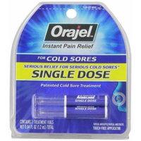 Orajel Single Dose Cold Sore Treatment, 4 Count