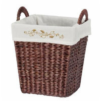 CreativeWare Coventry Waste Basket, Brown