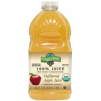 FRAGILE PLANET JUICE APPLE UNFLTD ORG, 64 OZ