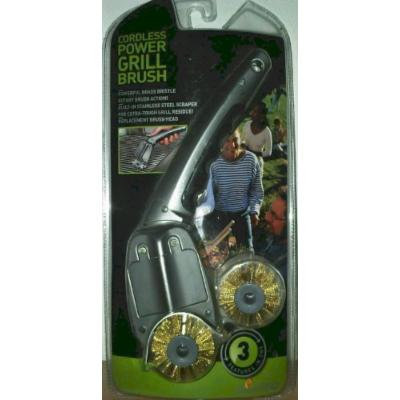 JLR Gear Smart BBQ Cordless Power Grill Brush