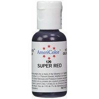 AmeriColor Soft gel paste Super Red .75 oz. bottle GP120