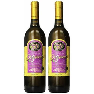 Napa Valley Naturals Organic Extra Virgin Olive Oil, two 25.4 Ounce bottles