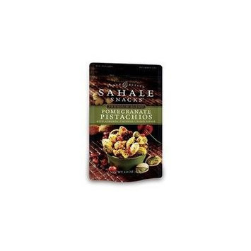 Sahale Snacks Pomegranate Pistachios 4 Oz (Pack of 6) - Pack Of 6
