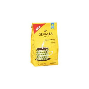 Gevalia Kaffe Espresso Roast Dark Ground Coffee 12 oz