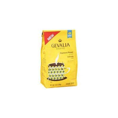 Gevalia Kaffe Espresso Roast Dark Ground Coffee 12 oz