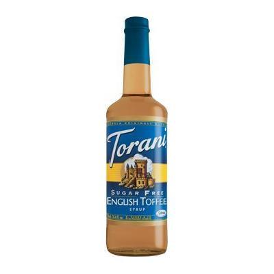 Torani Sugar Free English Toffee 750 mL (pack of three)