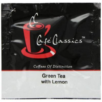 Cafe Classics Green Tea with Lemon, 15-Count (Pack of 3)