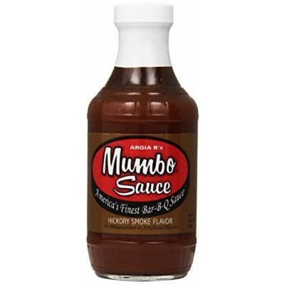 Argia B's Mumbo Sauce Tangy Hot BBQ Sauce, 18 Ounce (Pack of 6)