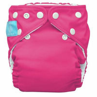 Charlie Banana 2 in 1 Eco-Friendly Hybrid Reusable Cloth Diaper - Large (Hot Pink)