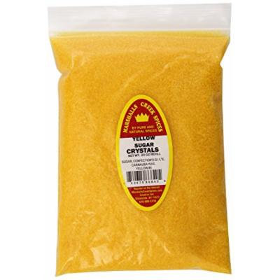 Marshalls Creek Spices Refill Pouch Sugar Crystals Seasoning, Yellow, XL, 20 Ounce
