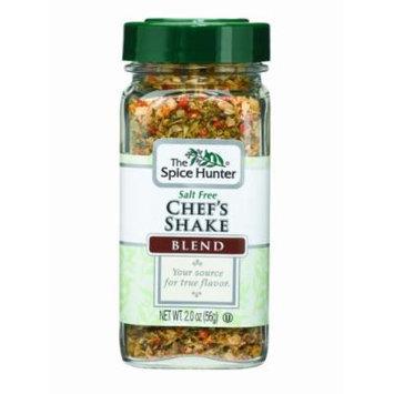 The Spice Hunter Salt Free Chefs Shake Blend, 2-Ounce Jars (Pack of 6)