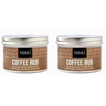 NoMU Coffee Rub 2 Pack