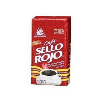 Sello Rojo Roast & Ground Coffee, 8.8-ounce Brick by Colcafe [Foods]