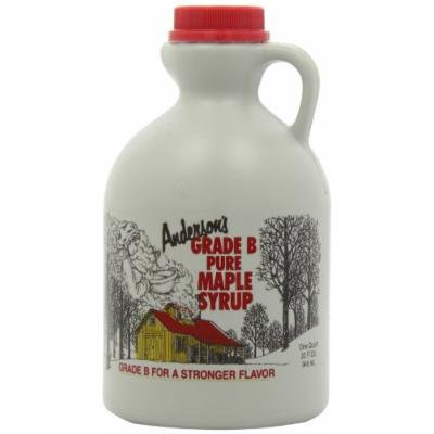 Anderson's Pure Maple Syrup, Grade B, 32 Ounce (Frustration-Free Packaging)
