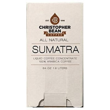 Sumatra Cold Brew Or Hot Liquid Coffee Concentrate 64 Ounce Bag In Box With Shcolle Connector