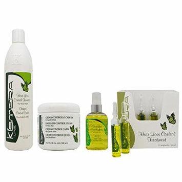 Kismera Hair Loss Control Shampoo & Cream & Lotion & Treatment 12ampoules
