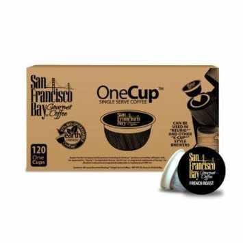 San Francisco Bay Coffee OneCup for Keurig K-Cup Brewers, French Roast - 120 Count