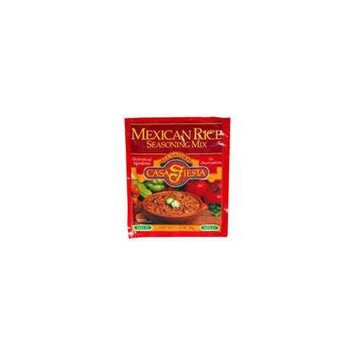Casa Fiesta Mex Rice Seasoning 1.4 OZ (Pack of 24)