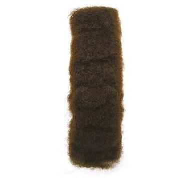 Afro Kinky Bulk Hair 100 % Human Hair ( Off Black Color #1b)