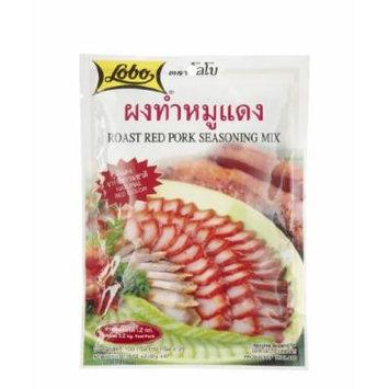 Lobo ,Roast Red Pork Seasoning Mix Paste - 3.52 Ounces
