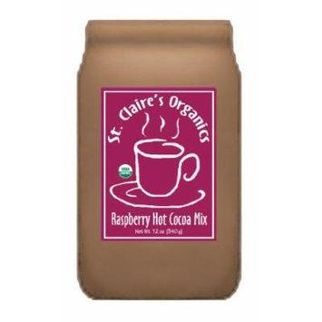 St. Claire's Organics® Raspberry Hot Cocoa Mix, 12 oz Bag