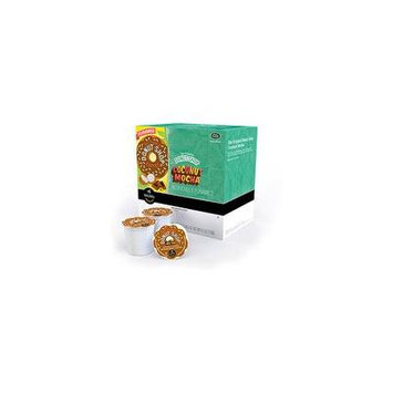 Coffee People K-Cups Donut Shop Coconut Mocha Coffee, 18 count(Case of 2)