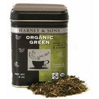Harney & Sons 4 oz loose tea ORGANIC GREEN with Citrus & Ginkgo