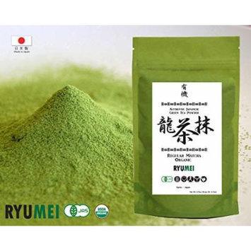 Ryu Mei Japanese Organic Matcha Green Tea Powder, 6.5oz Refill Eco Friendly Pack