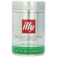 illy Caffe Decaffeinated Ground Coffee (Medium Roast, Green Band) Coffee, 8.8 Ounce Tin