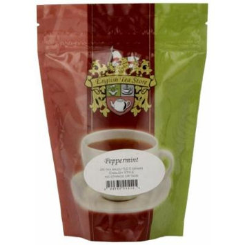 English Tea Store Peppermint Teabags, 25 Count