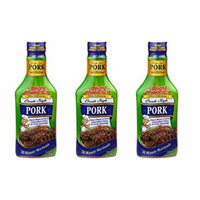Tony Chachere Pourable Marinades, Pork Marinade, 3 Count