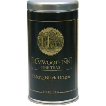 Black Dragon, Loose Oolong Tea ~ Elmwood Inn Fine Teas ~ 4 oz Tin