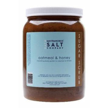 Oatmeal & Honey Brown Sugar Body Scrub 5lb Professional Size