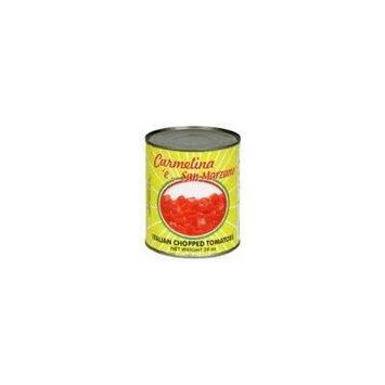 Carmelina Tomato Puree with Italian Chopped Tomatoes 28.0 OZ (Pack of 12)