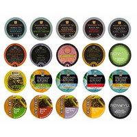 Crazy Cups Tea single Serve Cups for Keurig K cups Brewer Variety Pack Sampler, 20 count