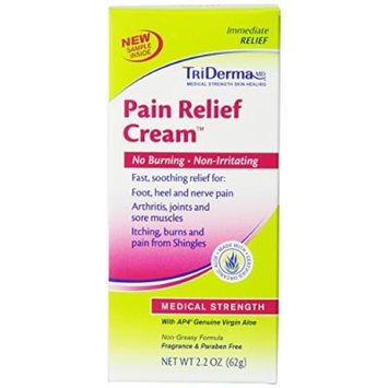 Triderma Pain Relief Cream, 2.2 Ounce (Pack of 2)