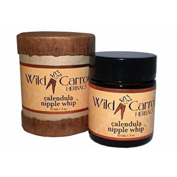 Calendula Nipple Whip Wild Carrot Herbals 0.5 oz Cream