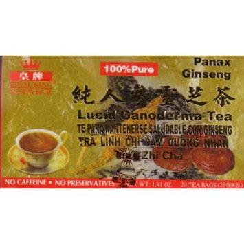 Ginseng Healthy Lucid Ganoderma Tea -20 Tea Bags