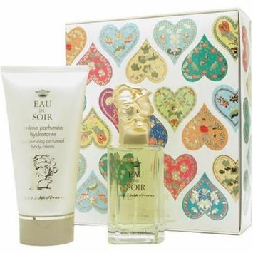 Eau Du Soir By Sisley For Women. Set-eau De Parfum Spray 3.3 oz & Body Cream 5.1 oz