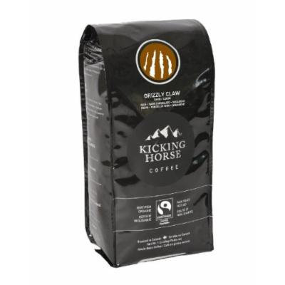 Kicking Horse Whole Bean Coffee, Grizzly Claw Dark Roast, 1 Pound