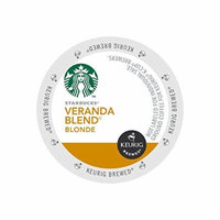 Starbucks K-cups for Keurig Brewers Veranda Blend Blonde, Case of 96