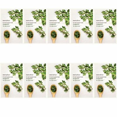 Innisfree It's Real Mugwort Mask- 10 pcs