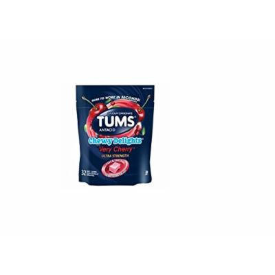 Tums Chewy Delights, Very Cherry 32 ea Pack of 3