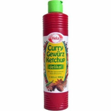 Hela Curry Gewurz Delicat Ketchup - Mild (800 ml)